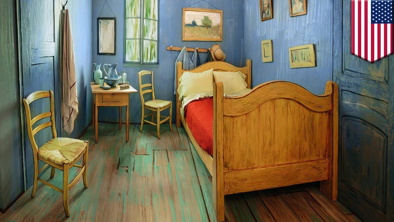 Sypialnia Van Gogha Dostępna W Airbnb