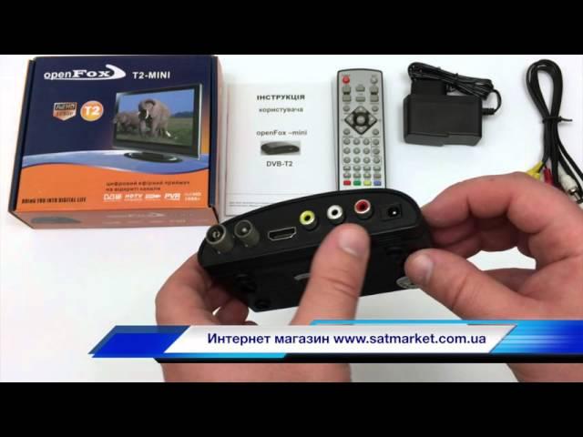 Видео обзор Open Fox T2 mini