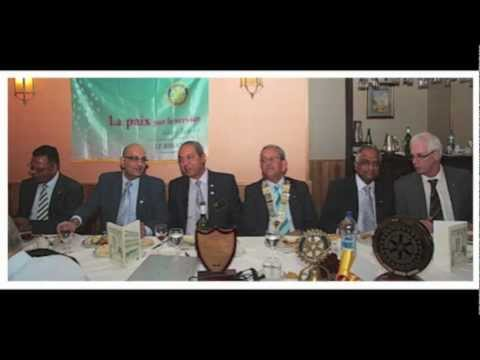 DG Alain Le Bihan visits Rotary Club of Port Louis, Mauritius