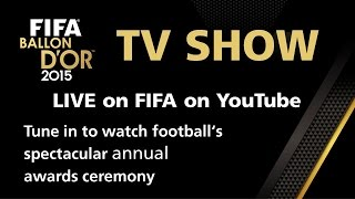 FULL REPLAY: FIFA BALLON D'OR 2015 TV SHOW([BROADCAST STARTS AT 8:45] Who lifted the FIFA Ballon d'Or, the FIFA Puskas Award for goal of the year and more? Watch the full live stream of the biggest ..., 2016-01-11T21:26:08.000Z)