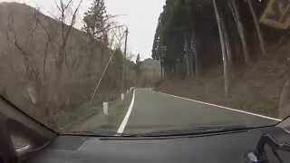 【車載】山道ドライブ2014-04 山口・島根県道3号 小峰峠