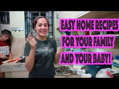 VLOG: MGA EASY HOME RECIPES + TAMANG KAIN RECIPES FOR BABIES  | Oeuvretrends