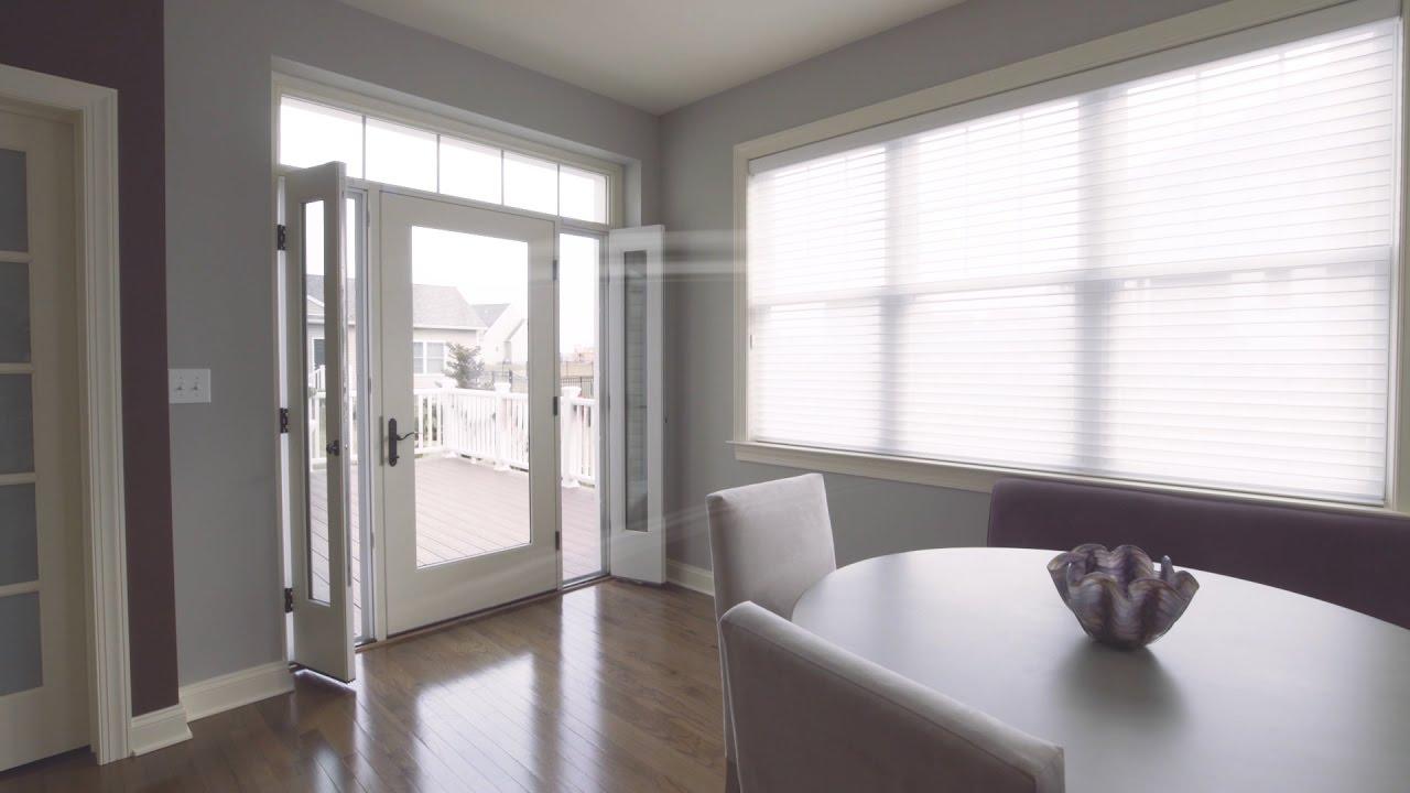 Therma tru vented sidelites reeb youtube for Reeb fiberglass exterior doors