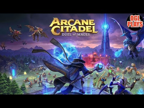 Arcane Citadel: Duel Of Mages By NEXON - Android Gameplay