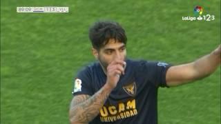 Golazo de Jona (1-3) UCAM Murcia vs Real Valladolid