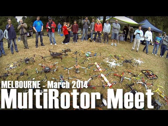 FPV Racing - Melbourne Multirotor Meet - March 2014