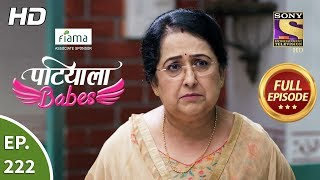 Patiala Babes - Ep 222 - Full Episode - 2nd October, 2019