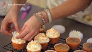 Cupcake Maniacs 7: Cupcakes de naranja con almendras