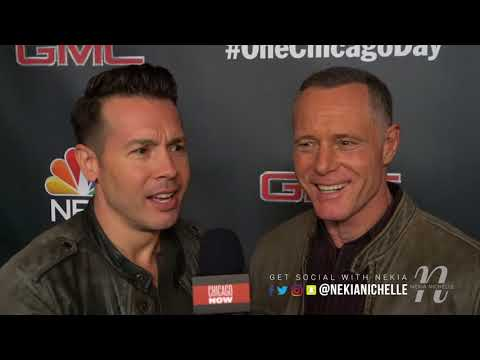 Jon Seda & Jason Beghe Talk Chicago PD & Imitate OneChicagoDay Cast Members