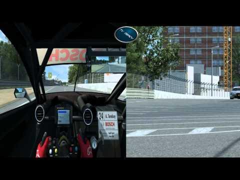 RaceRoom  DTM Experience Norisring(Cockpit & TV Kamera)  