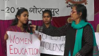 Sainthwar-Mall-Rajput Trust-2017: Beautiful message for the society by the Girls
