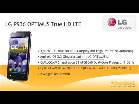 Hands-on: LG P936 OPTIMUS True HD LTE | BestBoyZ