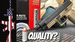 Federal 45 ACP Aluminum Ammo - $0.25 a RD