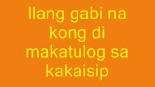 Ikaw Pa Rin (acoustic) - Letter Day Story (lyrics)