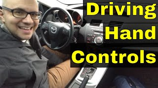 Driving Hand Controls-How To Use Them-Beginner Driving Lesson