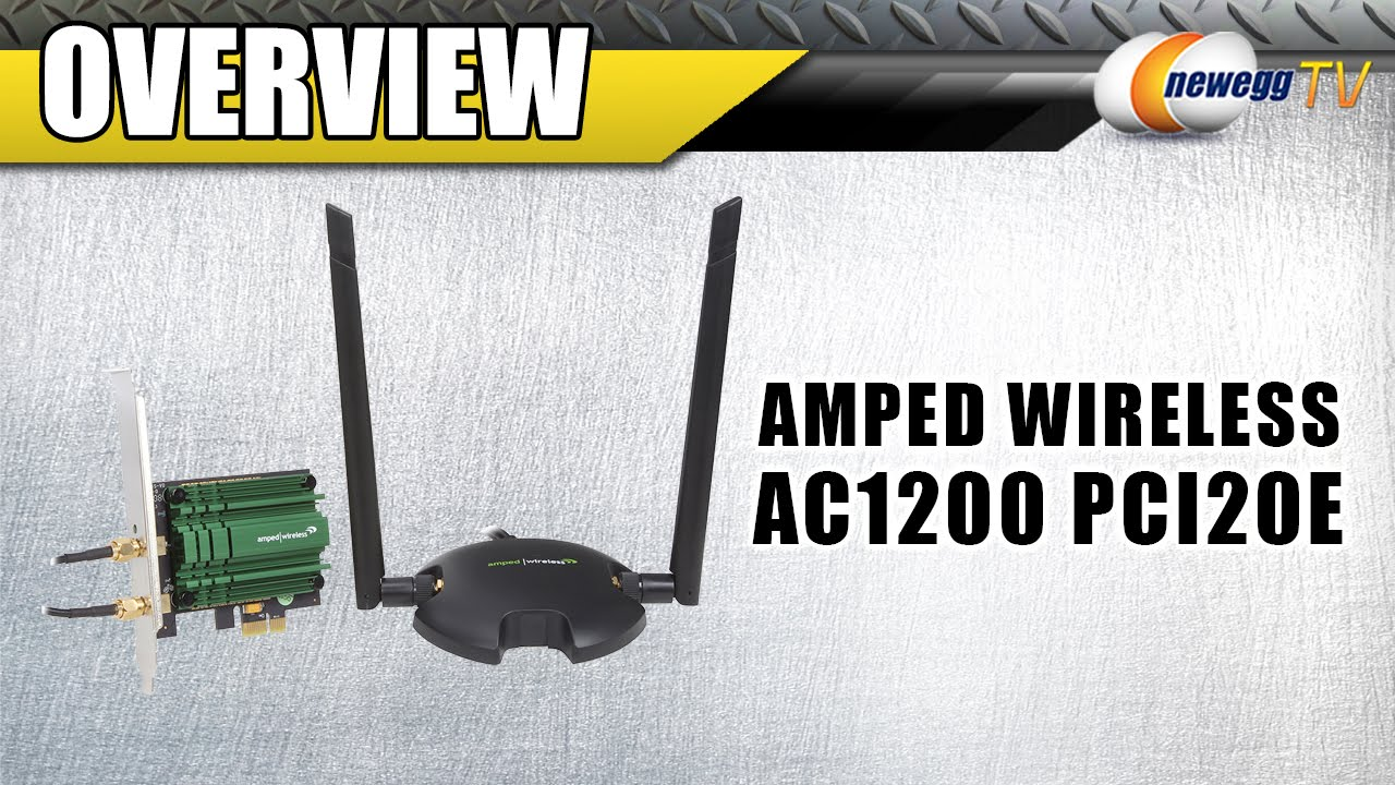 AMPED WIRELESS HIGH POWER WI-FI PCI-E ADAPTER DRIVER DOWNLOAD (2019)