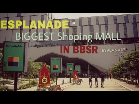 Biggest shoping mall ESPLANADE in bhubaneswar