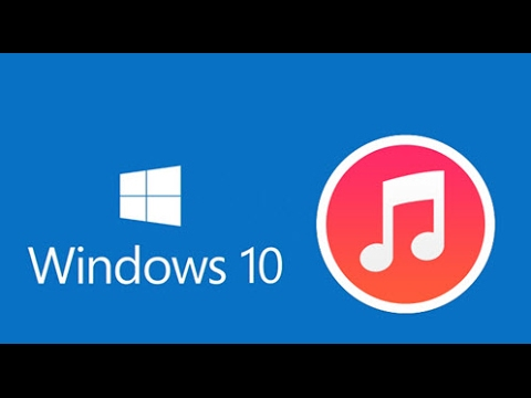 how to get itunes on ipod from windows 10