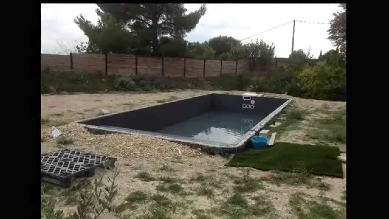 piscine desjoyaux en cours de r alisation rev tement pvc arm 150 100 me desjoyaux aixenpce. Black Bedroom Furniture Sets. Home Design Ideas