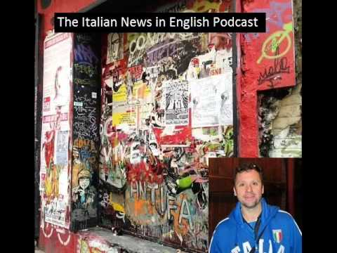Italian News in English Podcast - August 2013
