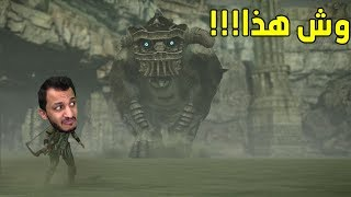 في ظلال العمالقه | كيف تجلد عمالقه وانت تضحك! Shadow of the Colossus