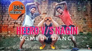 Heero vs nagin full comedy dance   vis sid boys
