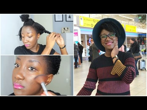 GRWM || TRAVELING TO GHANA EDITION || ADEDE