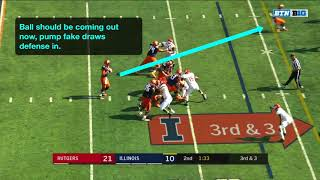 Rutgers vs. Illinois (Offense)