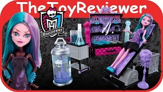 Monster High Create-A-Monster Color-Me-Creepy Design Chamber Lab TGoy Review by TheToyReviewer