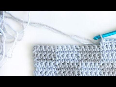 Crochet Checkerboard Stitch Youtube
