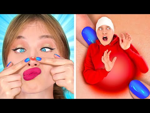 IF MAKEUP WERE PEOPLE || Awkward Moments And Funny Situations by 123 GO!