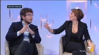 Diego Fusaro vs Elisa Simoni (PD): 'Avete ucciso Gramsci due volte, lei usa violenza nei miei ...