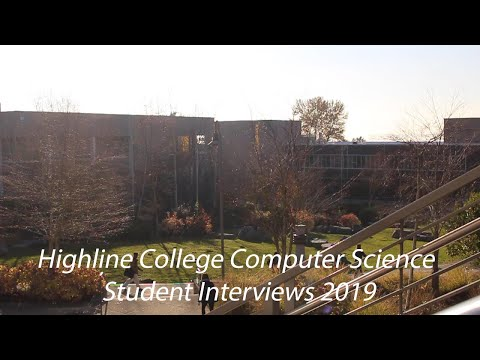 Highline College Computer Science Student Interviews 2019