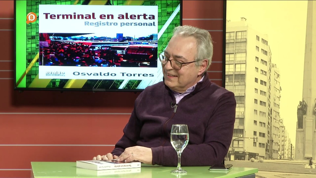 """Osvaldo Torres presenta su libro """"Terminal en Alerta"""""""
