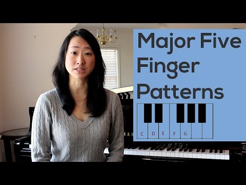 Major Five Finger Patterns