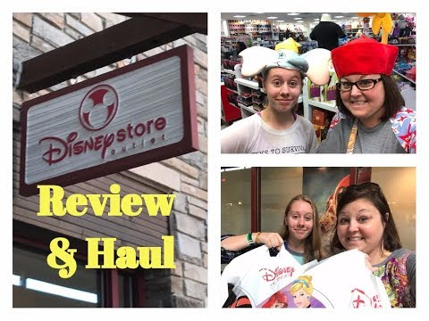 Disney Store Outlet Review & Haul