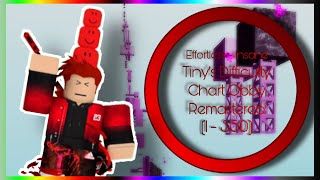 Tiny's Difficulty Chart Obby Remastered [REDONE] (1 - 350) | Effortless - Insane | TDCOS #109