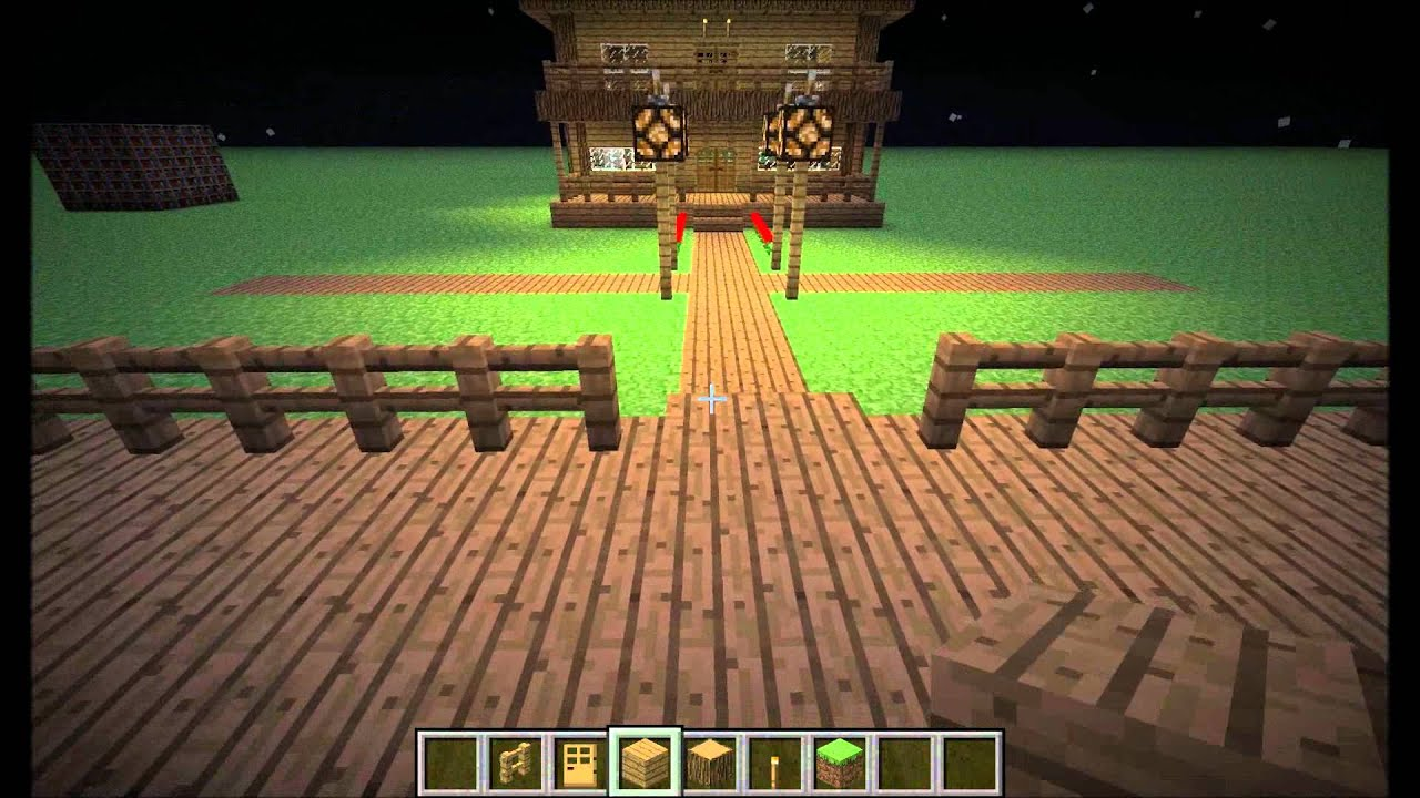how to make a home in minecraft