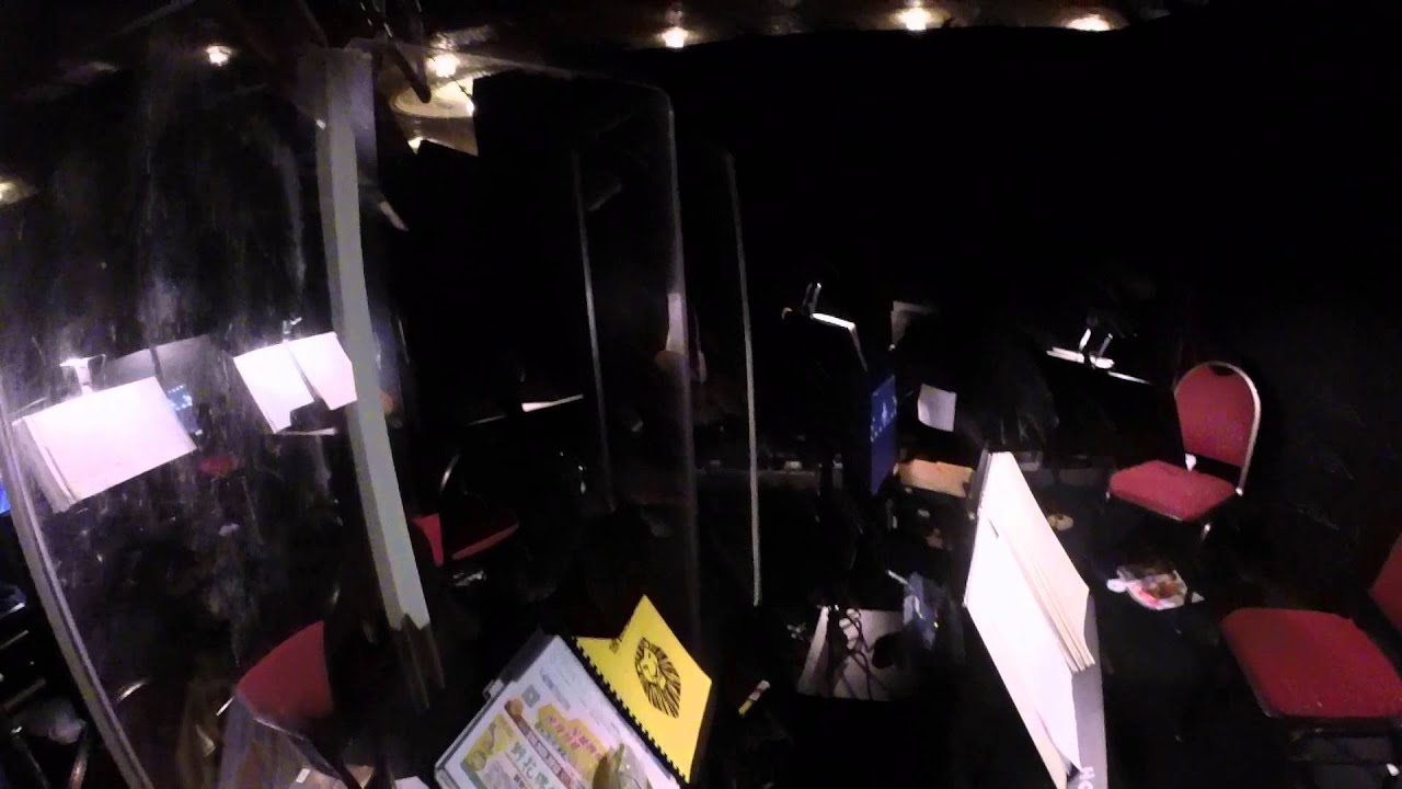 Lion king boston opera house the orchestra pit youtube for Orchestra house