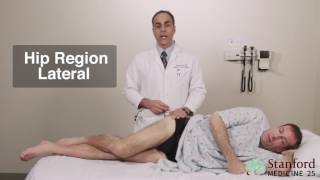 Approach to Hip Region Pain Physical Exam - Stanford Medicine 25 Video