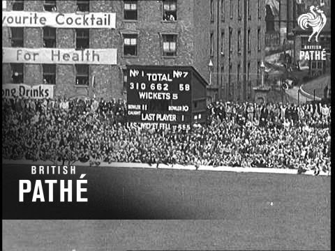 Test Match Continued Aka Fifth Test Match (1938)
