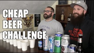 Cheap Beer Challenge