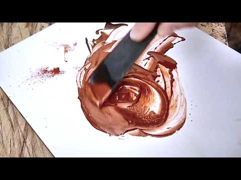 Basic steps to create a lacquer painting