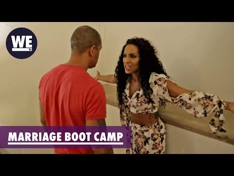 'Peter's Sneaky Phone Calls' Amina's Meltdown | Marriage Boot Camp: Reality Stars | WE tv