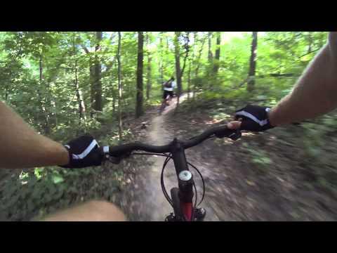 Illiniwek Bike Trail Part III - Downhill