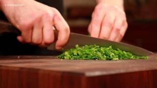 Как быстро и правильно нарезать зелень!