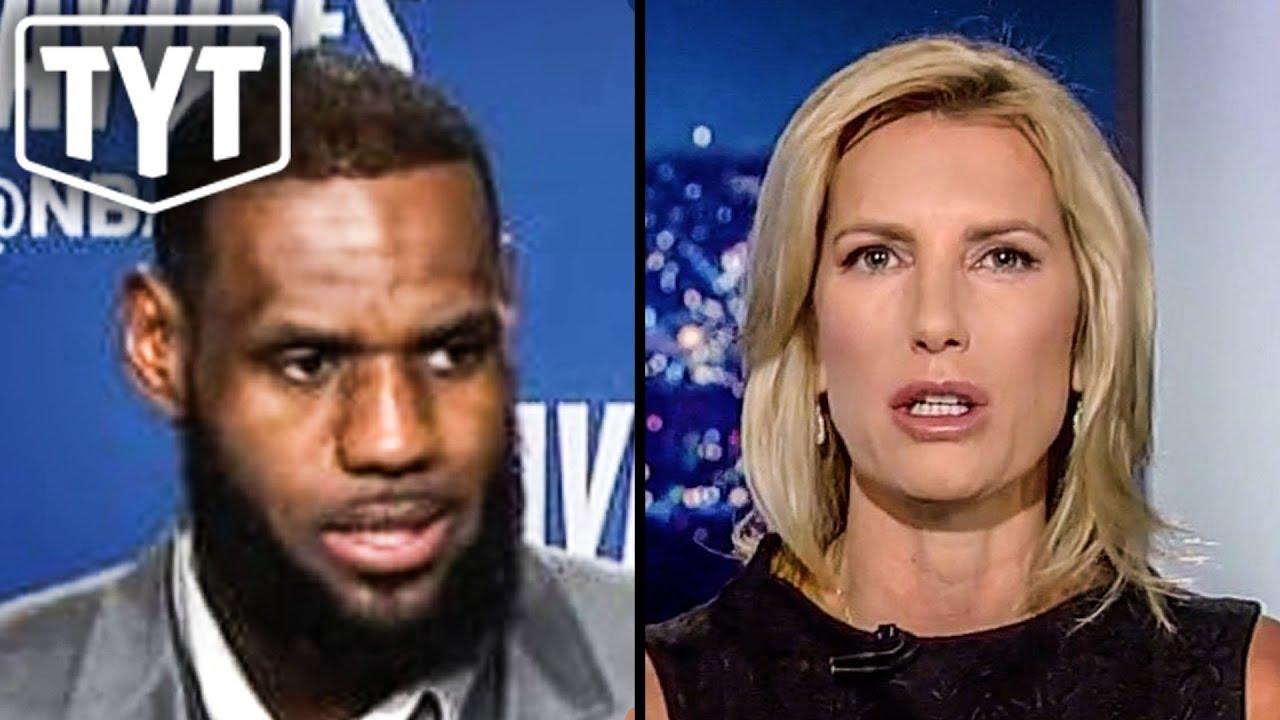 9d803d7540a LeBron James EPICALLY Destroys Laura Ingraham - YouTube