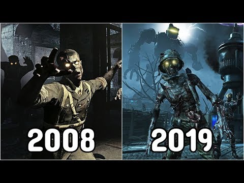 Evolution Of Call Of Duty Zombies 2008-2019