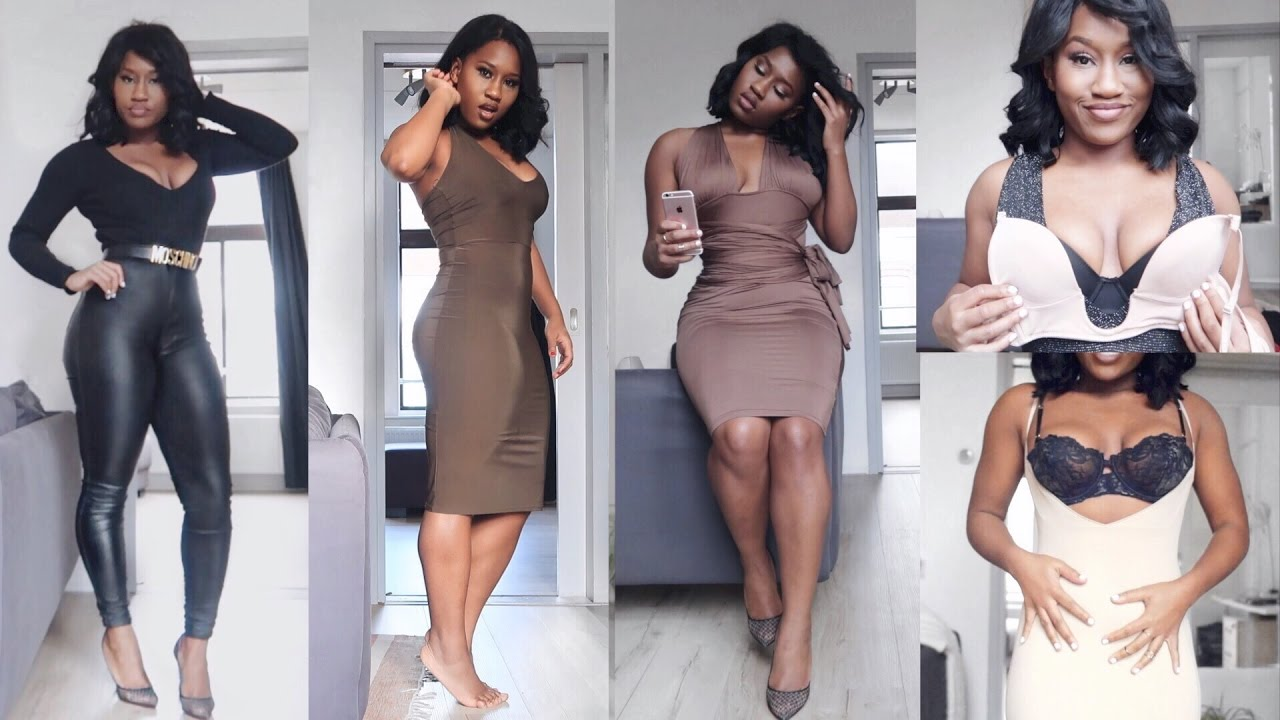 7c8c57e0e How to get ⌛️figure in tight dresses ft ppz shapewear - YouTube