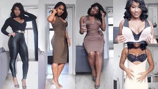How to get ⌛️figure in tight dresses ft ppz shapewear